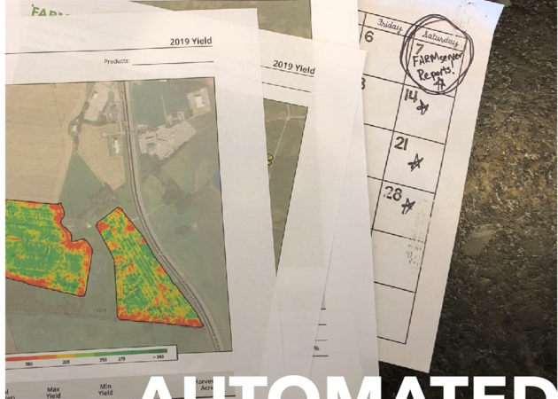 Automated Harvest Yield Reports