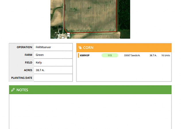 FARMserver Features for Planting Efficiency